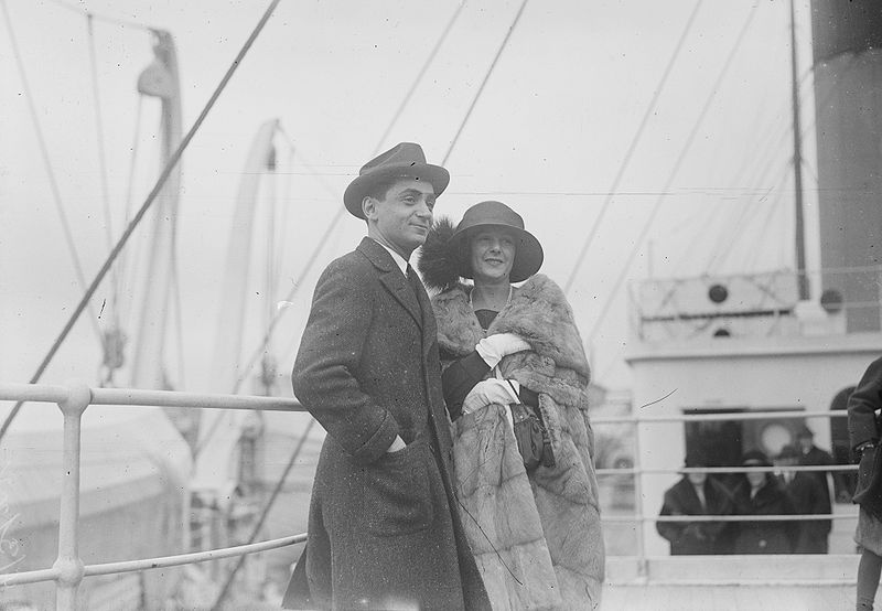 irving berlin and first wife