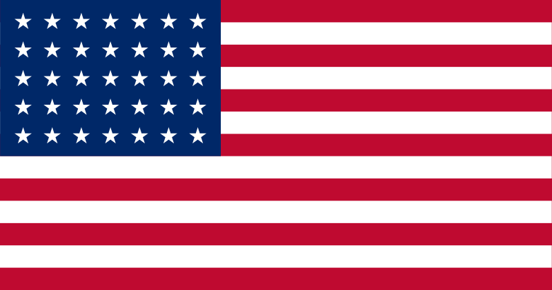 american flag civil war